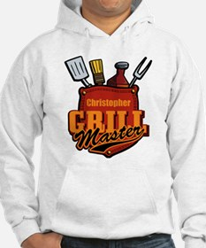 Pocket Grill Master Personalized Hoodie