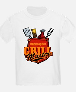 Pocket Grill Master Personalized T-Shirt