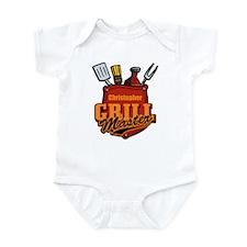 Pocket Grill Master Personalized Infant Bodysuit