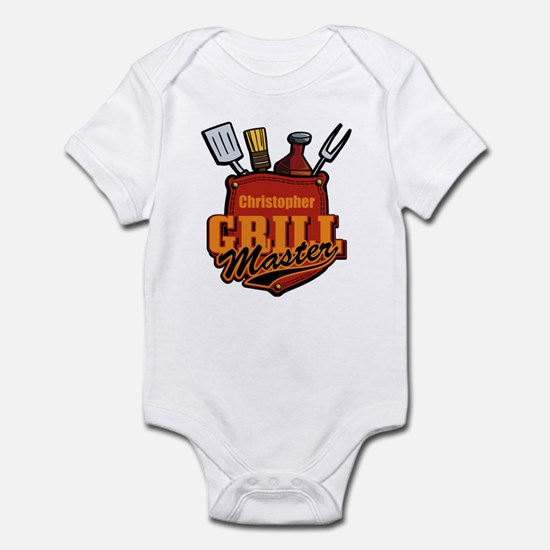 Pocket Grill Master Personalized Infant Bodysuit