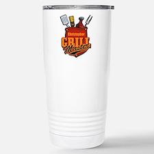 Pocket Grill Master Personalized Travel Mug