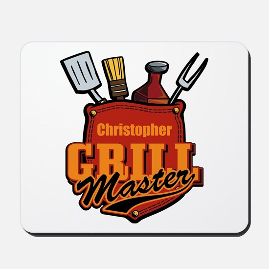 Pocket Grill Master Personalized Mousepad