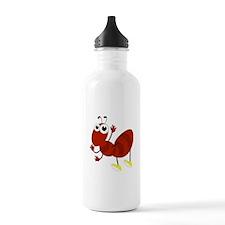Cartoon Fire Ant Sports Water Bottle