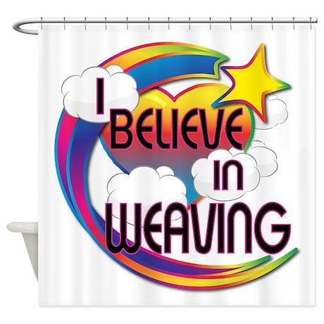 I Believe In Weaving Cute Believer Design Shower C