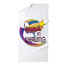 I Believe In Weaving Cute Believer Design Beach To