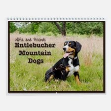 Entlebucher Mountain Dog Wall Calendar
