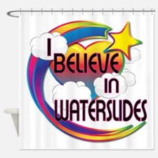 I Believe In Waterslides Cute Believer Design Show