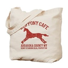 Longmire Red Pony Tote Bag
