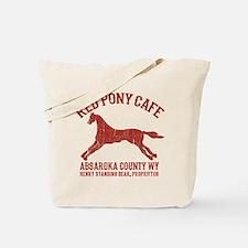 Longmire Red Pony Tote Bag