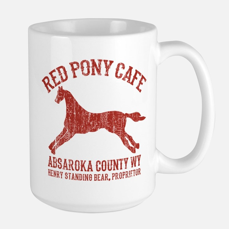 Longmire Red Pony Mugs
