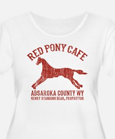 Longmire Red Pony Plus Size T-Shirt