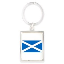 Flag of Scotland Keychains