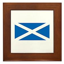 Flag of Scotland Framed Tile