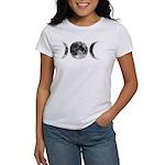 Triple Goddess Moons Women's T-Shirt