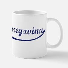 Blue Vintage: Bosnia-Herzegov Mug