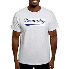 Blue Vintage: Bermuda Ash Grey T-Shirt