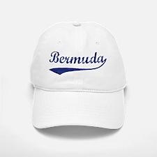 Blue Vintage: Bermuda Baseball Baseball Cap
