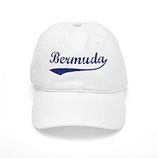 Blue Vintage: Bermuda Baseball Cap