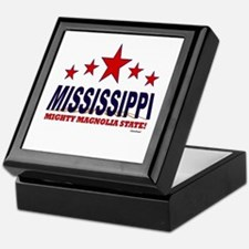 Mississippi Mighty Magnolia State Keepsake Box