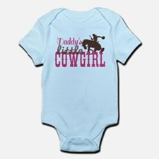 Daddys Little Cowgirl Body Suit