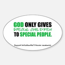 God Only Gives (Mito Awareness) Decal