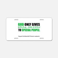 God Only Gives (Mito Awareness) Aluminum License P