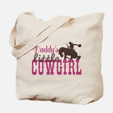 Daddys Little Cowgirl Tote Bag