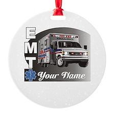 Custom Personalized EMT Ornament
