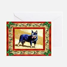 Australian Cattle Dog Christmas Greeting Cards