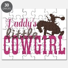 Daddys Little Cowgirl Puzzle