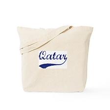 Blue Vintage: Qatar Tote Bag