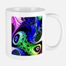 fractal colorful eyes Mugs