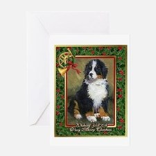Bernese Mountain Dog Christmas Greeting Cards