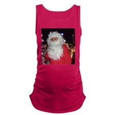 Christmas Santa Claus Maternity Tank Top