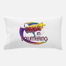 I Believe In Volunteering Cute Believer Design Pil