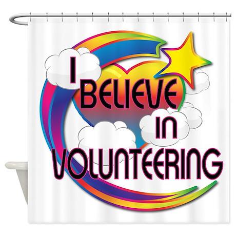 I Believe In Volunteering Cute Believer Design Sho