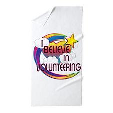 I Believe In Volunteering Cute Believer Design Bea