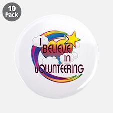 I Believe In Volunteering Cute Believer Design 3.5