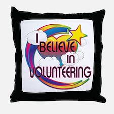I Believe In Volunteering Cute Believer Design Thr