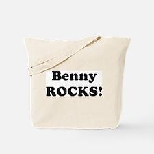 Benny Rocks! Tote Bag