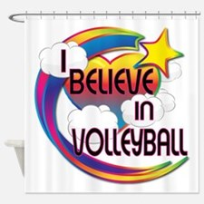 I Believe In Volleyball Cute Believer Design Showe