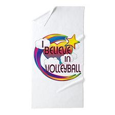 I Believe In Volleyball Cute Believer Design Beach