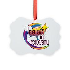 I Believe In Volleyball Cute Believer Design Pictu