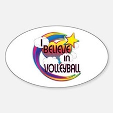 I Believe In Volleyball Cute Believer Design Stick