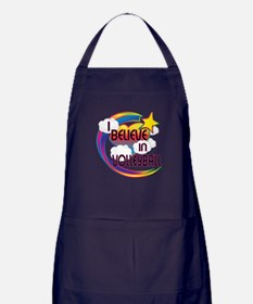 I Believe In Volleyball Cute Believer Design Apron