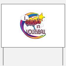 I Believe In Volleyball Cute Believer Design Yard