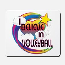 I Believe In Volleyball Cute Believer Design Mouse