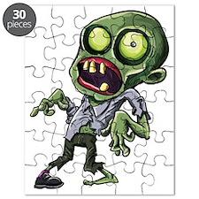Scary cartoon zombie Puzzle