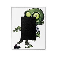 Scary cartoon zombie Picture Frame