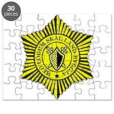 Icelandic National Police logo Puzzle